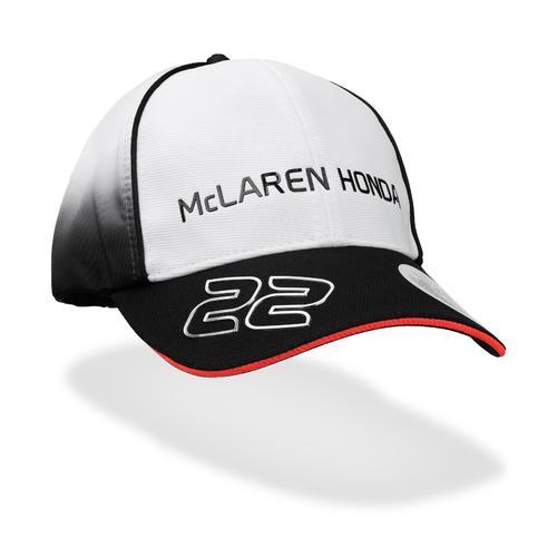 MCLAREN HONDA JENSON BUTTON CAP KIDS | Motorstore
