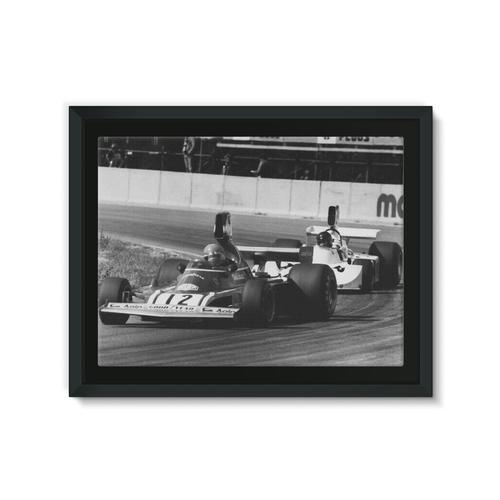 Niki Lauda and James Hunt - 1974 Swedish Grand Prix