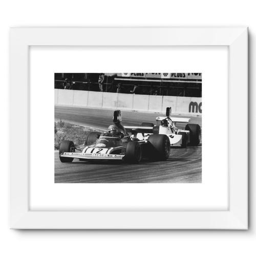 Niki Lauda AND James Hunt - 1974 | White