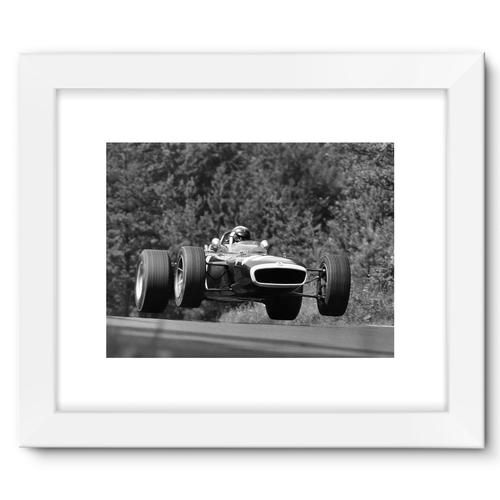 Nurburgring, Germany. 4th - 6th August 1967   White