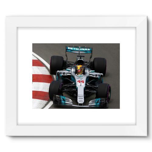 Lewis Hamilton, Mercedes AMG F1 W08 | White