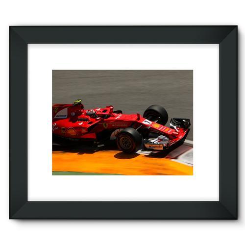 Kimi Raikkonen, Ferrari SF70H | Black